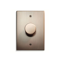 Keypad | Rotary Dimmer Plate | Reguladores giratorios | Meljac distributed by LVL-USA