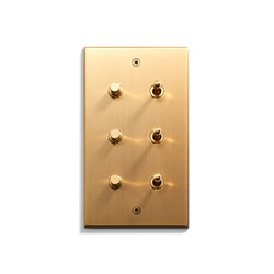 Keypad | 82 X 144 | 3 BP + 3 INV | interuttori a pulsante | Meljac distributed by LVL-USA