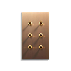 Keypad | 82 X 144 | 3 BP + 3 INV | Toggle switches | Meljac distributed by LVL-USA