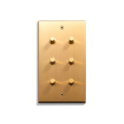 Keypad | 82 X 144 | 6 BP | Push-button switches | Meljac distributed by LVL-USA