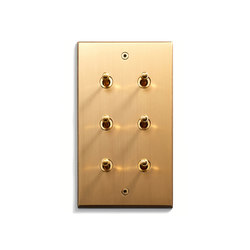 Keypad | 82 X 144 | 6 INV | Toggle switches | Meljac distributed by LVL-USA