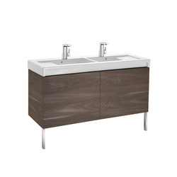 Stratum-N | Unik (base unit and basin) | Waschplätze | ROCA