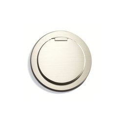Kitchen Outlet Round | Cover | American sockets | Meljac distributed by LVL-USA