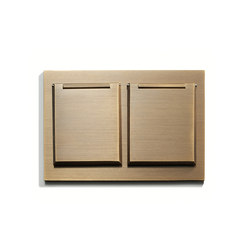 Wall Outlet Duplex | Covers | US-Norm | Meljac distributed by LVL-USA