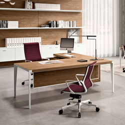X9 | Executive desks | The Quadrifoglio Group