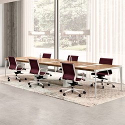 X9 | Tavoli multimediali per conferenze | Quadrifoglio Office Furniture