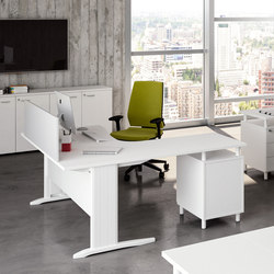 Praktica | Individual desks | The Quadrifoglio Group