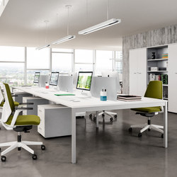 Praktica | Desking systems | Quadrifoglio Office Furniture