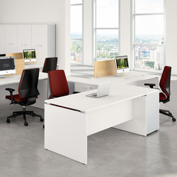 Praktica | Sistemas de mesas | Quadrifoglio Office Furniture