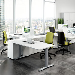 Praktica | Tischsysteme | Quadrifoglio Office Furniture