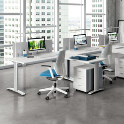 Praktica | Desking systems | The Quadrifoglio Group