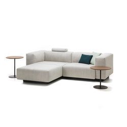 Soft Modular Sofa 2-Seater, Chaise Longue | Sofás | Vitra