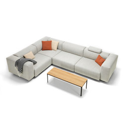 Soft Modular Sofa 3-Seater, corner element | Divani | Vitra