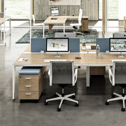 X5 | Desking systems | Quadrifoglio Office Furniture