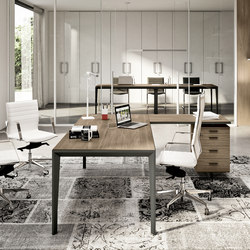 X5 | Direktionstische | Quadrifoglio Office Furniture