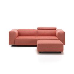 Soft Modular Sofa 2-Seater, Ottoman | Canapés | Vitra