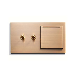 Specialty | 2 INV + Outlet | Cover | Toggle switches | Meljac distributed by LVL-USA