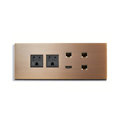 Specialty | Custom Data Plate | American sockets | Meljac distributed by LVL-USA