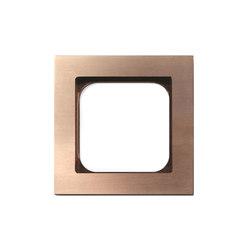 Frame 1-Soft Copper | Socket outlets | Basalte