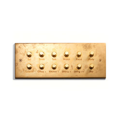 Specialty | Custom Keypad | 12 BP | Engraved | Push-button switches | Meljac distributed by LVL-USA