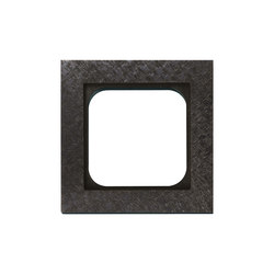 Frame 1-New Fer Forge Gun Metal | Socket outlets | Basalte