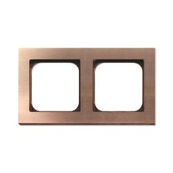 Frame 2-New Soft Copper | Socket outlets | Basalte