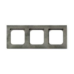 Frame 3-New Fer Forge Grey | Socket outlets | Basalte