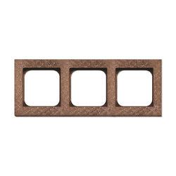 Frame 3-New Fer Forge Rose | Socket outlets | Basalte