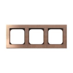 Frame 3-Soft Copper | Socket outlets | Basalte