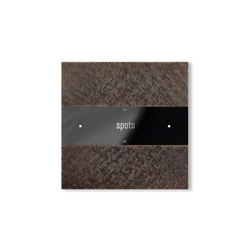 Deseo intelligent thermostat - fer forgé bronze | KNX-Systems | Basalte