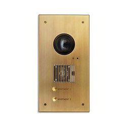 Specialty | Custom Video Intercom Plate | Stations de porte | Meljac distributed by LVL-USA