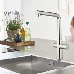GROHE Blue Home L-spout Starter kit | Kitchen taps | GROHE