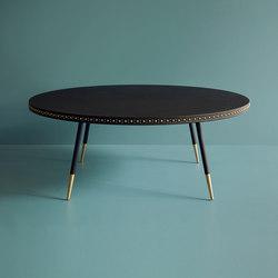 Stud leather coffee table | Tavolini bassi | Bethan Gray