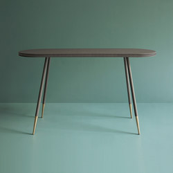 Brogue leather console table | Tables consoles | Bethan Gray