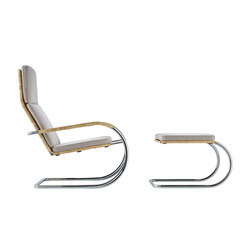D35-1 Cantilever lounge chair | Lounge chairs con poggiapiedi | TECTA