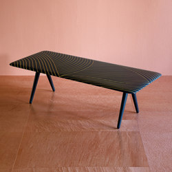 Shamsian dhow coffee table | Lounge tables | Bethan Gray