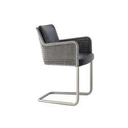 D43 Cantilever chair with armrests | Visitors chairs / Side chairs | TECTA