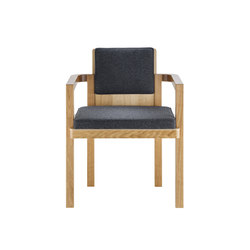 D51 Gropius-Armlehnstuhl | Visitors chairs / Side chairs | TECTA