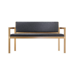 D51-2 Bench 2 seats | Waiting area benches | TECTA