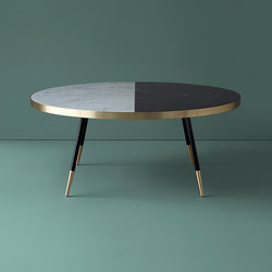 Band marble coffee table | Coffee tables | Bethan Gray