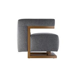 F51 Gropius-armchair | Lounge chairs | TECTA
