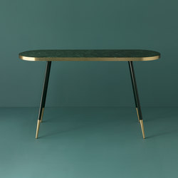 Band marble console table | Console tables | Bethan Gray