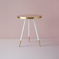 Band marble side table | Tavolini alti | Bethan Gray