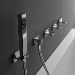 Luna - Wall-mounted hand shower - Set | Shower controls | Graff