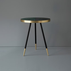 Band marble side table | Beistelltische | Bethan Gray
