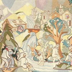 Vintage Swedish Tapestry | Tappeti / Tappeti d'autore | Nazmiyal Rugs