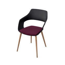 Occo | Visitors chairs / Side chairs | Wilkhahn