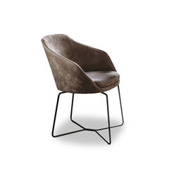 Ribbon 9400 Dining armchair | Sillas | Vibieffe