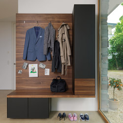 Cubus Pure Entry Hall | Built-in wardrobes | TEAM 7