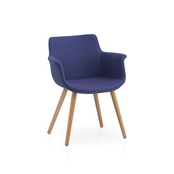 Rego | Visitors chairs / Side chairs | B&T Design